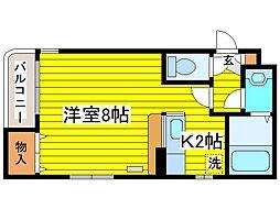北海道札幌市東区北十七条東9丁目の賃貸マンションの間取り