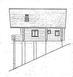 立面図(東側)