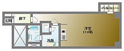 クレアジオーネ中之島西[7階]の間取り