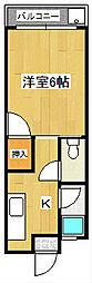 レジデンス210[3階]の間取り