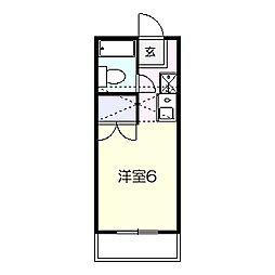 グラン鎌ヶ谷[108号室]の間取り