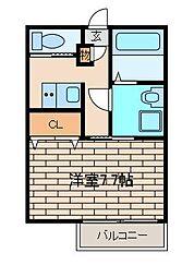 リンデンハウス[1階]の間取り