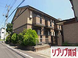 千葉県千葉市中央区港町の賃貸アパートの外観