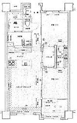 セルアージュ横濱大口リュミエール[6階]の間取り