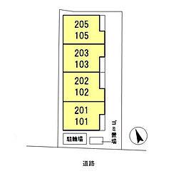(仮)東大宮4丁目新築D-room[205号室]の外観