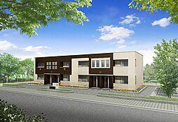 十連寺新築アパート[103号室]の外観