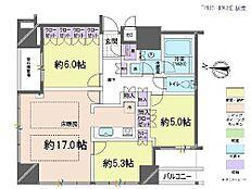 3LDK・専有面積78.1平米・バルコニー面積4.72平米