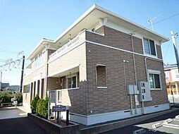 静岡県富士宮市田中町の賃貸アパートの外観