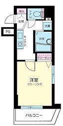 エルサンタフェ渋谷[503号室号室]の間取り