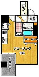 リード 桜坂[3階]の間取り