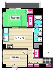 吉澤ビル1[2階]の間取り