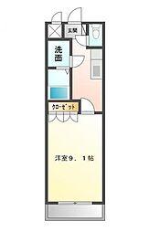 神奈川県小田原市東町1丁目の賃貸マンションの間取り