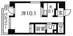 ヴィターレ[7階]の間取り