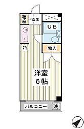 サンクレスト富士見[1階]の間取り