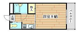コンフォートツシマ[2階]の間取り