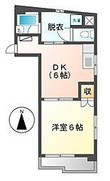 大須寿ビル[7階]の間取り