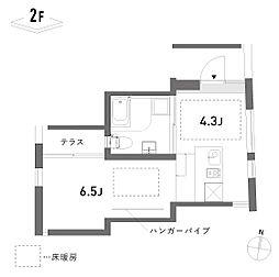 新築 荘[212号室号室]の間取り