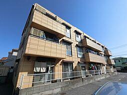 千葉県四街道市下志津新田の賃貸マンションの外観