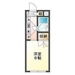 リーベ21 パートII[2階]の間取り