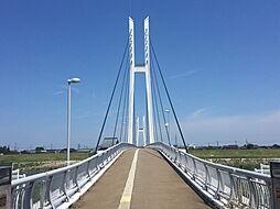 中角歩道橋まで...