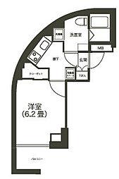 ライフゾーン玉川2[7階]の間取り