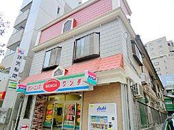 東京都大田区大森北1丁目の賃貸アパートの外観