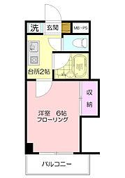 ワンステップビル[3階]の間取り