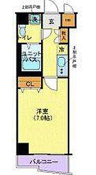 メイクスデザイン桜新町[5階]の間取り