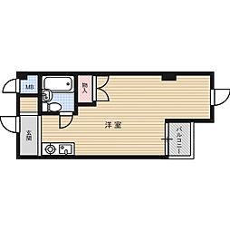メゾンプリムローズ[5階]の間取り