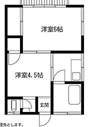 [一戸建] 埼玉県越谷市大間野町2丁目 の賃貸【/】の間取り