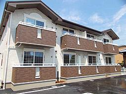 兵庫県高砂市米田町米田字北川の賃貸アパートの外観