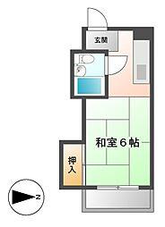 ドルフ千代田[7階]の間取り