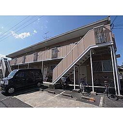 奈良県大和高田市築山の賃貸アパートの外観