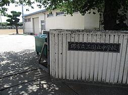 三国丘中学校区