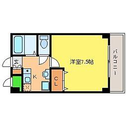 兵庫県神戸市東灘区本山南町4丁目の賃貸マンションの間取り