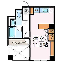 ドゥーエ大須[1105号室]の間取り