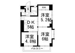 マリア保育園[3階]の間取り