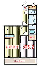 EMS(エムズ)[1階]の間取り