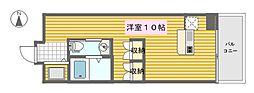 スタジオアパートメントWK[704号室]の間取り