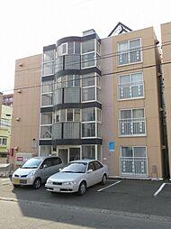 北海道札幌市北区北三十六条西7丁目の賃貸マンションの外観