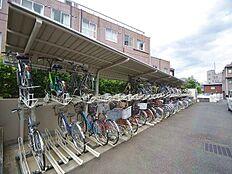 自転車もキレイに整頓されています。