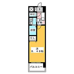 ArtizA千代田[6階]の間取り