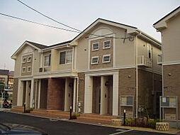 ローザアルベロA・B棟[2階]の外観