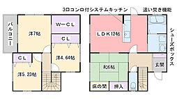 [一戸建] 福岡県糸島市末永 の賃貸【/】の間取り