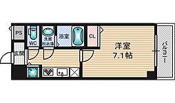 セゾンコート新大阪[4階]の間取り