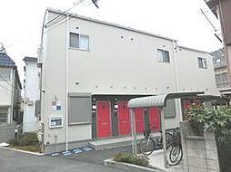 東京都板橋区大山西町の賃貸アパートの外観