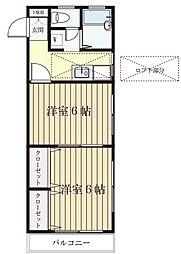 メゾン菅生台[2階]の間取り