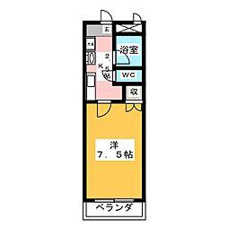 M−FLAT[3階]の間取り