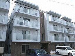 北海道札幌市豊平区豊平五条5丁目の賃貸マンションの外観