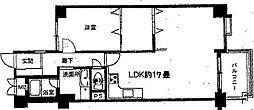 第1ロイヤルハイツ中尾[2階]の間取り